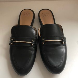 EUC TARGET a new day black loafers
